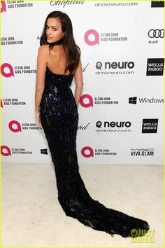 ae472813 Irina Shayk at the Elton John AIDS Foundation Academy Awards Viewing Party  held during the 2014