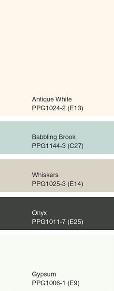 See The PPG Pittsburgh Paints 2015 Color of the Year and Color Forecast: IntroSense Palette