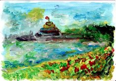 Explore, Painting, The Sea, Painting Art, Paintings, Painted Canvas, Drawings, Exploring