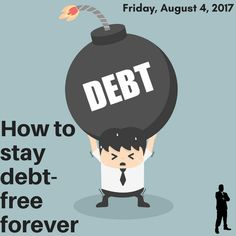 I speak a lot about being free. Getting debt-free is tough, but staying debt-free is often just as tough. I give you my tips on Staying Debt-Free Forever! It's not just about your bank account, it's a lifestyle! Debt Free, Bank Account, Money Matters, Determination, Wealth, Saving Money, Budgeting, Knowledge, Success