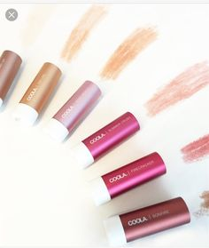 coola tinted lip balm swatches at DuckDuckGo Tinted Lip Balm, Lip Tint, Non Toxic Makeup, Beauty 101, Natural Makeup Looks, Skin Makeup, The Balm, Swatch, Make Up