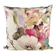 Pink Bloom Cushion | Dunelm