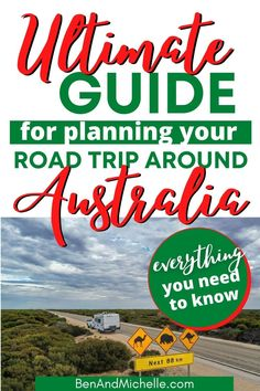 If you're planning a road trip around Australia, then you'll need this Ultimate Guide to help you plan your trip. With everything from setting up with the best rig for you, saving, budgeting, packing lists, getting set up for free camping, how to get internet and so much more! Road trip around Australia | How to get set up for an epic Australian road trip Australian Road Trip, Australia Country, Road Trip Planner, Road Trip Hacks, Packing Lists, How To Get, How To Plan, Plan Your Trip, Camps