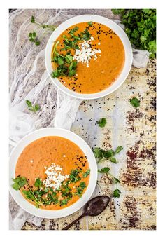 Baked pepper soup