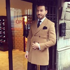 Cashmere overcoat!