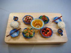 Design Miniatures~~~: Miniature Food - Asian Cuisines
