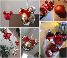 15 disney christmas decorations for a more magical holiday these mickey mouse christmas ornaments are just adorable 1 solutioingenieria Gallery