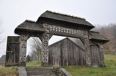 Vernacular Architecture, Architecture Old, Pergola, Gazebo, Porche, Gate House, Marquise, Wooden House, Dark Ages