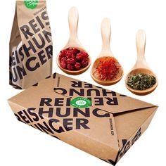 REISHUNGER Persisch Polo Box - Rezeptbox für Reis Persischer Art zum Selbermachen #reishunger #box #gift #persischpolo