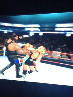 Undertaker vs Finlay
