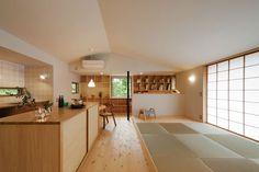 緑の中にしっとりと佇む コンパクトな平屋|さほらぼ by 佐保建設の建築実例|ステップハウス注文住宅