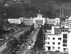 구 중앙청(현 광화문)부근 전경(1966.10.29.) 출처: 서울사진아카이브