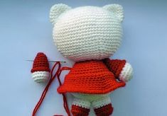 Master class from Larisa (Rosettes). Larisa will tell you how to tie a toy - amigurumi Hello Kitty. Crochet Food, Crochet Hats, Master Class, Rosettes, Doll Clothes, Origami, Winter Hats, Workshop, Dolls