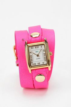 pink wrap watch!