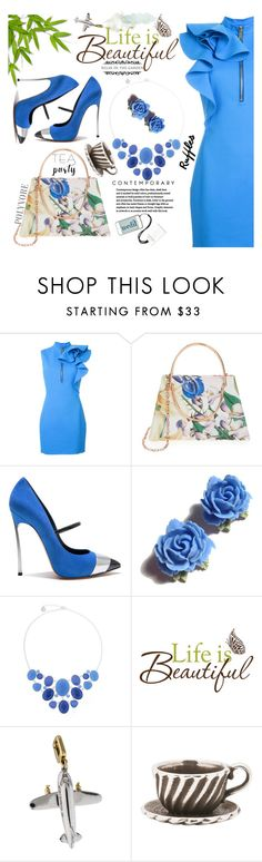 """""""Relaxing in the garden"""" by carleen1978 ❤ liked on Polyvore featuring Kelly Wearstler, Dsquared2, Ted Baker, Casadei, Tarina Tarantino, Liz Claiborne, Louis Vuitton and Trollbeads"""