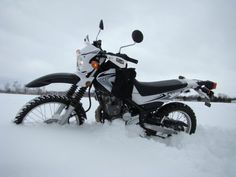 Love it!!! Dirt bikes and snow