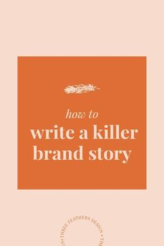 How write a killer brand story that will attract all of your dream clients and help you sell your product and services Branding Your Business, Business Marketing, Creative Business, Business Tips, Content Marketing, Corporate Branding, Personal Branding Strategy, Personal Identity, Marketing Plan