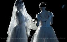 Giselle, the Wilis, backstage, Mikhailovsky Ballet, photo by Nikolay Krusser