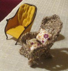 """221B Baker Street - """"basket"""" armchair"""