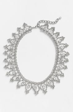 Beautiful crystal collar necklace.