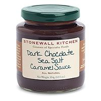 Stonewall Kitchen Dark Chocolate Sea Salt Caramel Sauce: Sauce-version of my favorite sweet, salted caramels. Never tried this, but sounds yum.