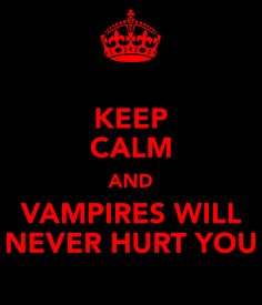 Keep Calm And Vampire Knight