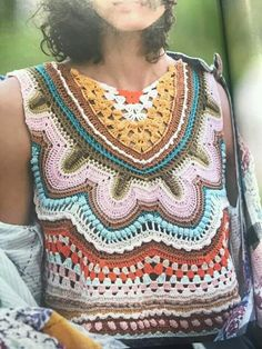 Maglis - New Ideas Moda Crochet, Crochet Motif, Crochet Yarn, Crochet Stitches, Knit Crochet, Knitting Patterns, Crochet Patterns, Crochet Jumper, Hippie Crochet
