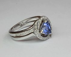 Our diamond rings embrace Romance, Beauty & sparkling Diamond Brilliance. Each diamond ring is delicately created by skilled craftsmanship. Tanzanite Engagement Ring, Designer Engagement Rings, Ring Designs, Diamond Jewelry, Sapphire, Pure Products, Gemstones, Collection