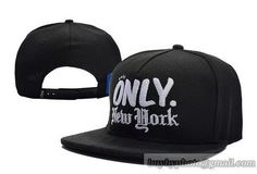 Only NY 2T Logo Snapback Black|only US$8.90,please follow me to pick up couopons.