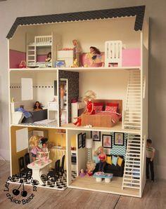 maison de barbie 6 les meubles chambres et salle de bain maison de barbie pinterest miniatures doll houses and playmobil