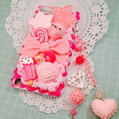 Sweet Deco Arctic Ice Cream Parlor Kawaii Decoden by Lucifurious, $38.00