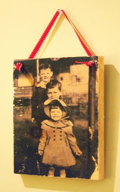 Rustic DIY: Print Your Family Photos on Wood | YouPlusStyle