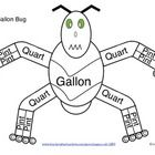 Not your ordinary gallon man, but it is GALLON BUG!!!  Teach capacity with gallon bug! Includes a blank gallon bug for students to fill in and an e...