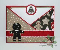 Triangle Flap Pocket Card