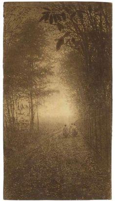 (Unknown) Pictorialism, c.1900. … via Van Ham