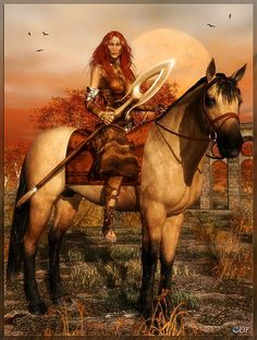 Women warriors in folklore Scathach is a legendary Scottish woman warrior who appears in the Ulster Cycle. She trains Cuchulainn.  Wikipedia  http://myartblogcollection.blogspot.ca/2015/01/women-warriors-in-folklore.html