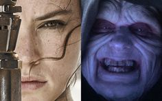 "But a new theory has awakened: that Rey is in fact Emperor Palpatine's granddaughter. | This ""Star Wars"" Theory About Rey Will Blow Your Mind"