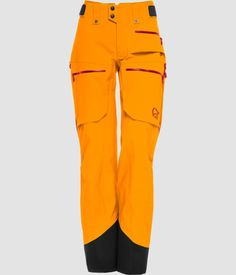 Norrøna lofoten Gore-Tex Pro Pants for women - Norrøna® Lofoten, Persona, Suits For Women, Jackets For Women, Carolyn Jones, New Pant, Female Profile, Ski Pants, Orange Crush