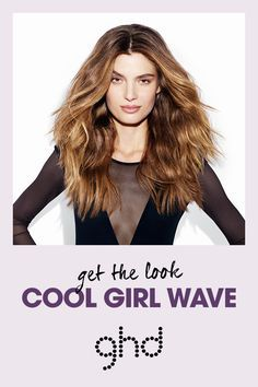 Create party season styles with ghd platinum. #CoolGirlWave #InfiniteStyles