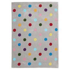 Callisto Rainbow Confetti Kids Rug