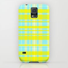Case for Samsung Galaxy S5. The lay-flat feature protects the front of your phone by extending the bezel above the screen. My Scottish heritage meets my Californian colour influences in this bright pattern.  www.callycreates.blogspot.co.uk www.facebook.com/cally.creates/