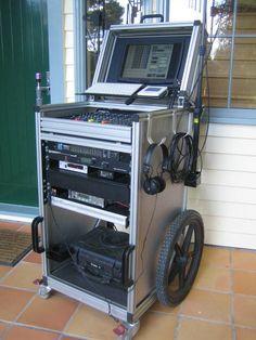Computer Workstation, Computer Setup, Road Cases, Audio Rack, Dj Setup, Must Have Gadgets, Subwoofer Box, Body Wave Wig, Custom Pc