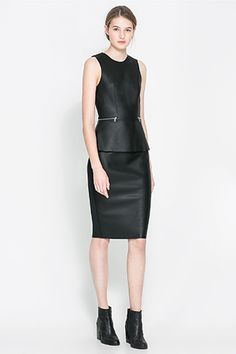 Zara+Re-Invents+The+Little+Black+Dress,+&+We+Want+Them+All+#refinery29