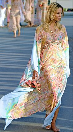 this Chanel kaftan is so beautiful  Ax