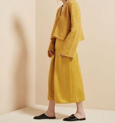 Gelbe Mode, Hijab Mode, Mohair-pullover, Modische Outfits, Strickwaren,  Redaktion 0408afa26a