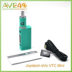 Joyetech Evic Mini Kit  Evic Mini VW Vaporizer Ecig Kit 60w Box Mod VS Kanger Subox Mini and Eleaf iStick 100w Welcometo Ave Forty, home of all of your quality vaping needs. We offer a wide selection of the best and newest electronic cigarettes. We have developed a sound business relationship with all of o  #Vape http://www.vaporgasme.com/produk/joyetech-evic-mini-kit-evic-mini-vw-vaporizer-ecig-kit-60w-box-mod-vs-kanger-subox-mini-and-eleaf-istick-100w/