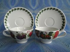 Vintage Portmeirion Pair Of Espresso Cups And by PurelyPortmeirion, £25.00