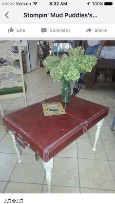 Old briefcase idea