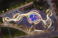 Gallery of Jaworznickie Planty Water Playground / RS + Robert Skitek - 21 Architecture Concept Drawings, Landscape Architecture Design, Modern Architecture House, Ancient Architecture, Sustainable Architecture, Classical Architecture, Social Housing Architecture, Casa Farnsworth, Water Playground