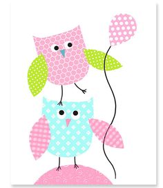 https://www.etsy.com/es/listing/185213586/nursery-art-print-owls-aqua-green-pink?ref=related-4
